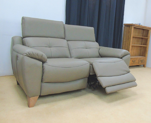 Evolution 1702 Leather Power Reclining 2 Seater Sofa